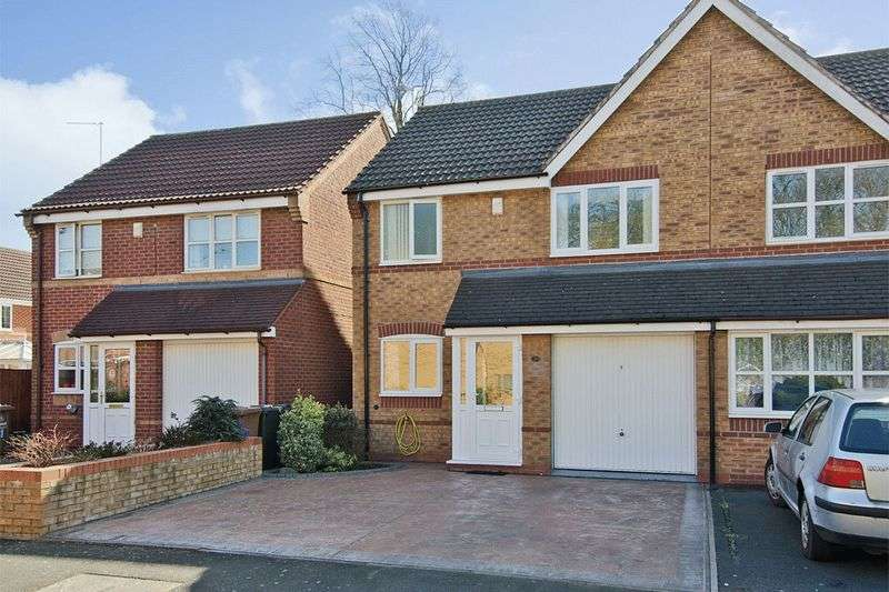 3 Bedrooms Semi Detached House for sale in Teal Grove, Wednesbury