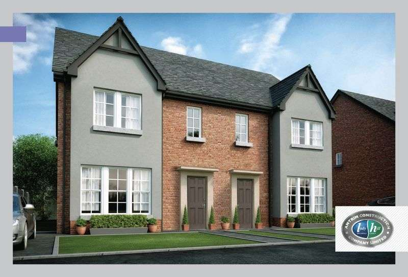 3 Bedrooms Semi Detached House for sale in The Duneane Drumford Meadow, Portadown