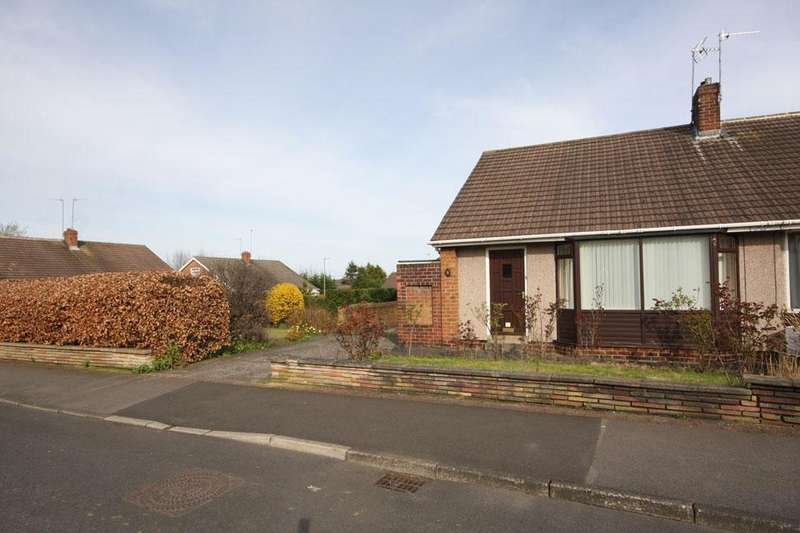 2 Bedrooms Semi Detached Bungalow for sale in Coniston Close, Garden Farm, Chester-le-Street DH2 3DW