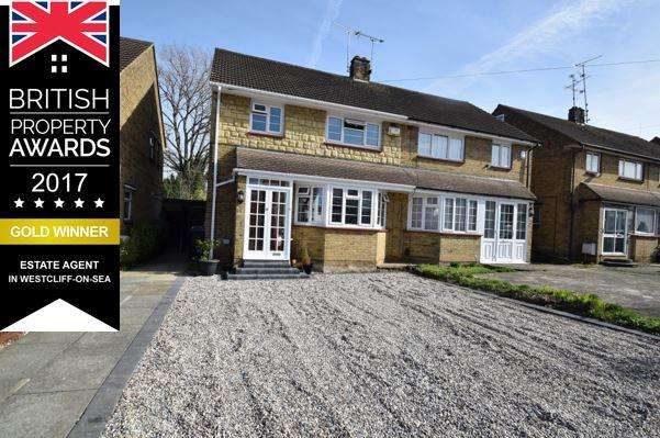 3 Bedrooms Semi Detached House for sale in WESTCLIFF ON SEA SS0
