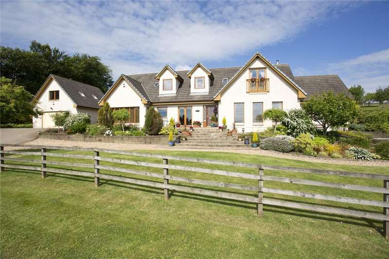 5 Bedrooms Detached House for sale in Schiehallion, Fairslacks, West Linton, Peeblesshire, EH46