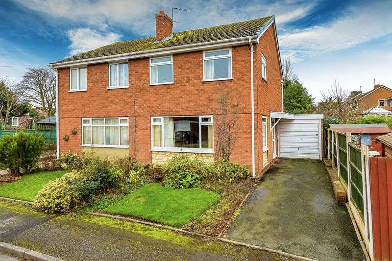 2 Bedrooms Semi Detached House for sale in Linden Grove, Telford