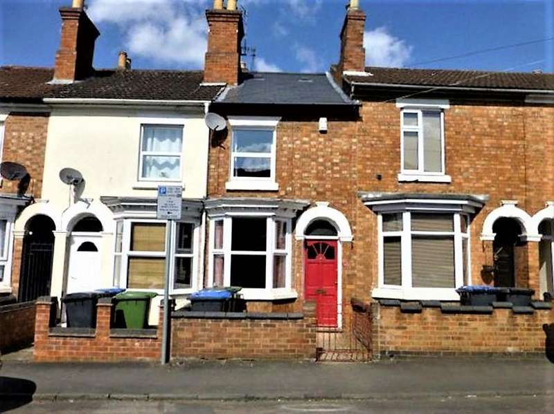 2 Bedrooms Terraced House for sale in Spring Street, Town Center, Rugby