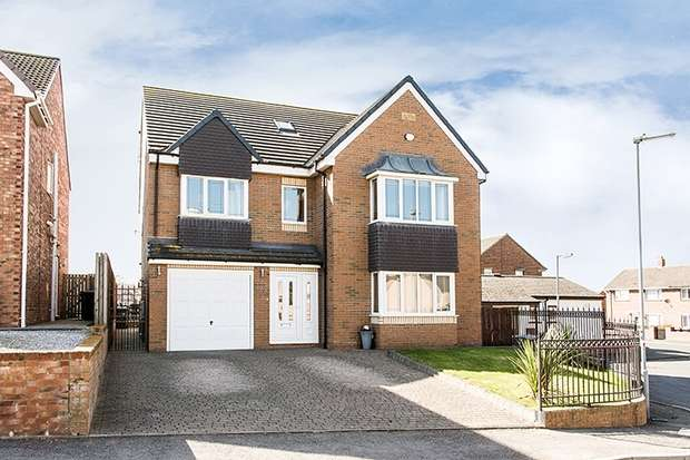 6 Bedrooms Detached House for sale in Warwick Gardens, Byers Green, SPENNYMOOR, Durham
