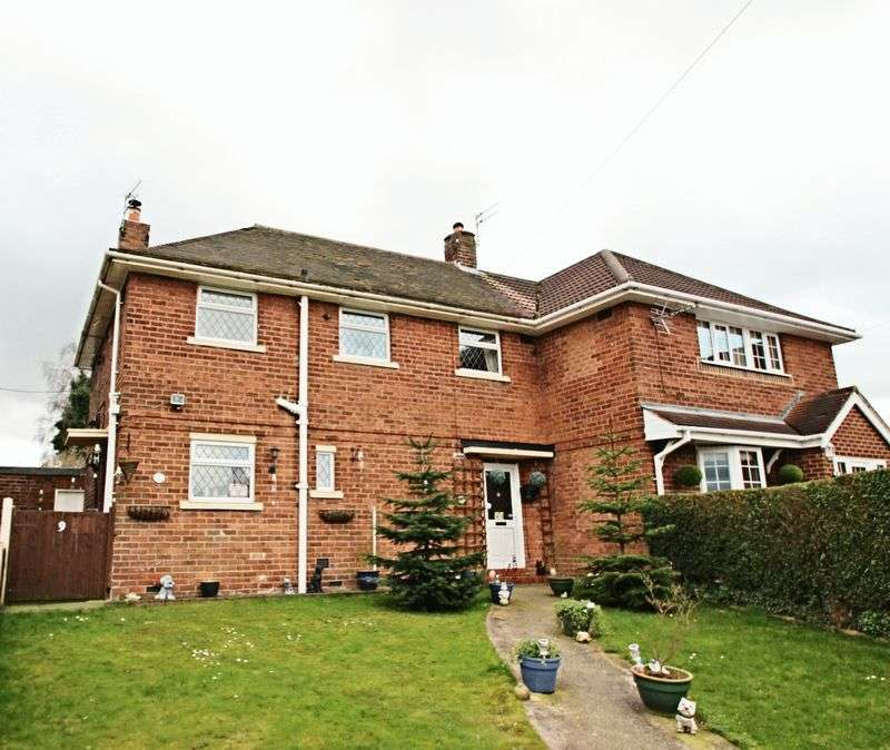 3 Bedrooms Semi Detached House for sale in Brindley Close, Stoke-On-Trent