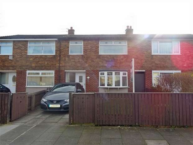 3 Bedrooms Terraced House for sale in Canberra Avenue, Thatto Heath, St Helens, Merseyside