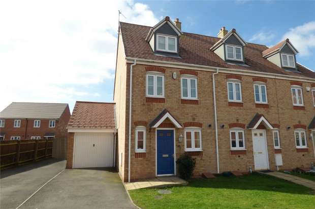 3 Bedrooms End Of Terrace House for sale in The Bridleway, Elliots Court, Nuneaton, Warwickshire