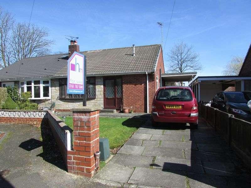 3 Bedrooms Semi Detached Bungalow for sale in Caernarvon Close, Greenmount - Quiet Cul De Sac