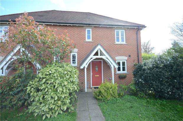 3 Bedrooms Semi Detached House for sale in Orchard Dene Drive, Padworth, Reading
