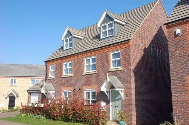 3 Bedrooms Semi Detached House for sale in Sandy Hill Lane, Moulton, Northampton NN3 7AW