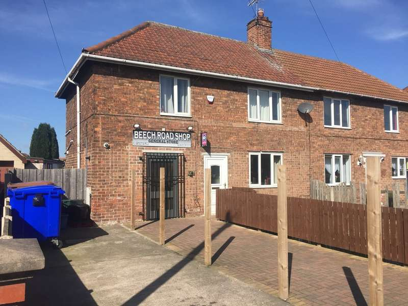 3 Bedrooms Semi Detached House for sale in GENERAL STORE & SELF CONTAINED FLAT, Beech Road, Armthorpe, Doncaster, DN3 2EF