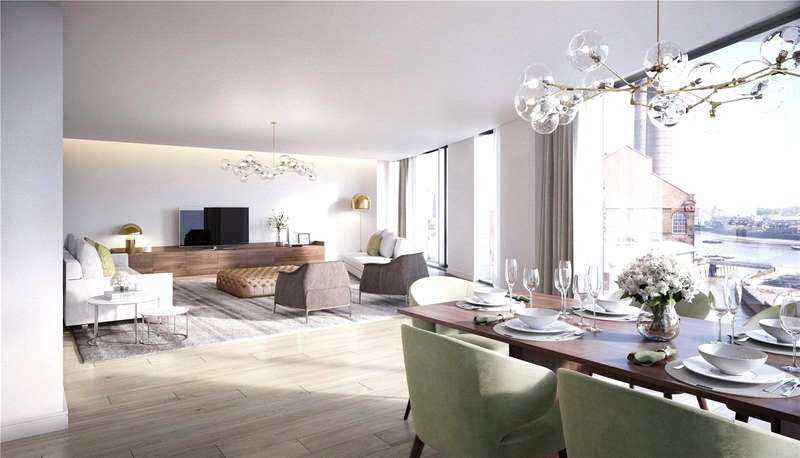 3 Bedrooms Flat for sale in Chelsea Island, Harbour Avenue, London, SW10