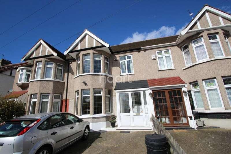 3 Bedrooms Terraced House for sale in Glenwood Gardens, Gants Hill