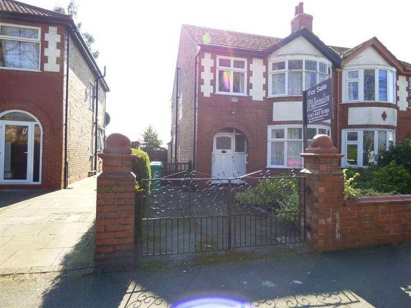 3 Bedrooms Semi Detached House for sale in Old Hall Lane, Fallowfield, Manchester, M14
