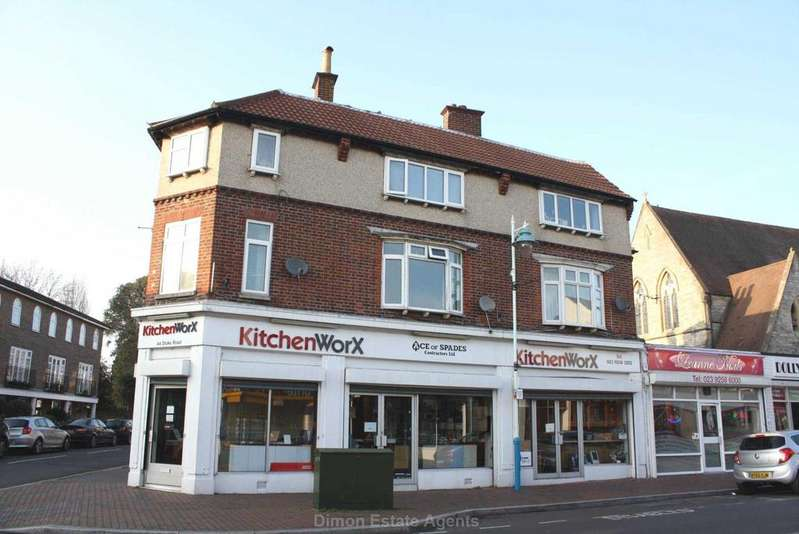 2 Bedrooms Maisonette Flat for sale in Stoke Road, Gosport