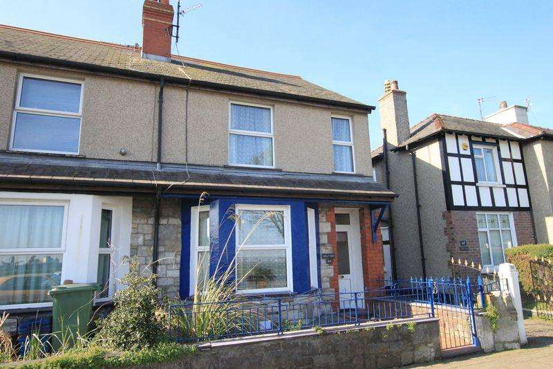 3 Bedrooms Terraced House for sale in Beach Road, Bangor