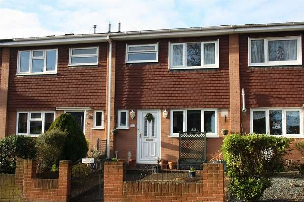 3 Bedrooms Terraced House for sale in Cargate Avenue, ALDERSHOT, Hampshire