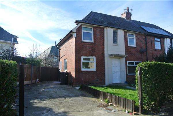 3 Bedrooms Semi Detached House for sale in Fielding Road, Blackpool