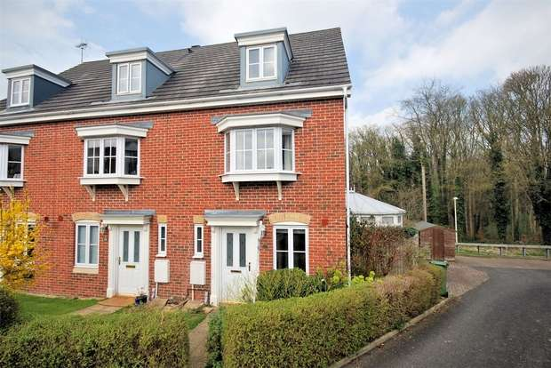 3 Bedrooms End Of Terrace House for sale in Trenchard Avenue, Wendover, Buckinghamshire