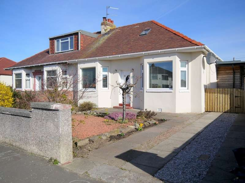 3 Bedrooms Semi Detached Bungalow for sale in Boydfield Avenue, Prestwick, KA9