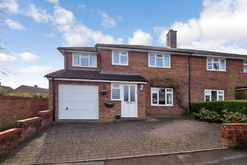 4 Bedrooms Semi Detached House for sale in Jocketts Road, Chaulden, Hemel Hempstead