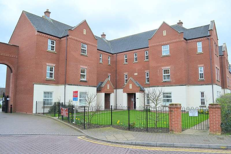 2 Bedrooms Flat for sale in Kemberton House, Deykin Road, Lichfield