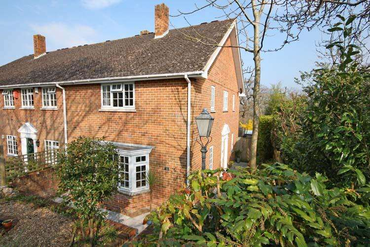 3 Bedrooms End Of Terrace House for sale in Hollywood Court, Hollywood Lane, Lymington SO41