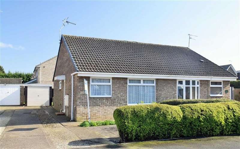 2 Bedrooms Semi Detached Bungalow for sale in Hathersage Road, Hull, HU8