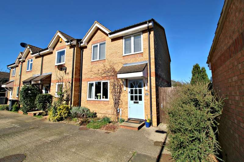 3 Bedrooms End Of Terrace House for sale in Talisman Street, Hitchin, SG4