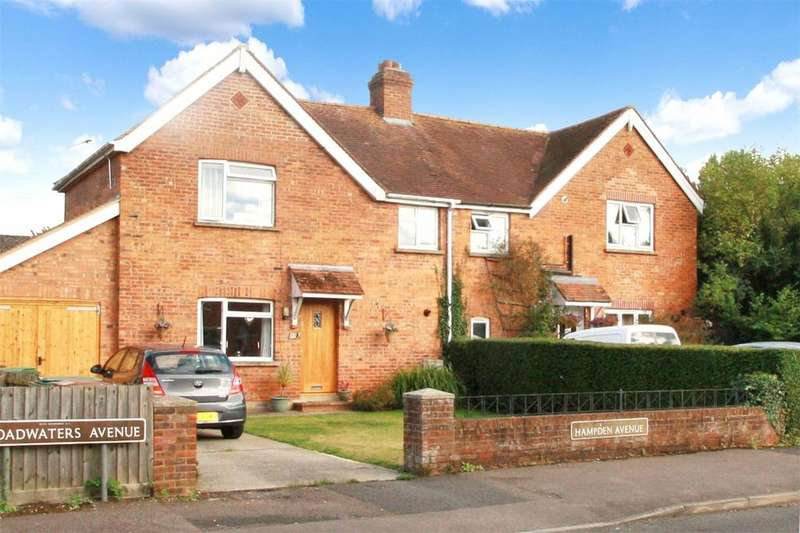 3 Bedrooms Semi Detached House for sale in Hampden Avenue, Thame, OX9