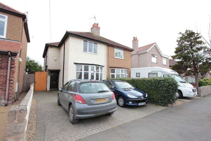 3 Bedrooms Semi Detached House for sale in Grosvenor Avenue, Rhyl