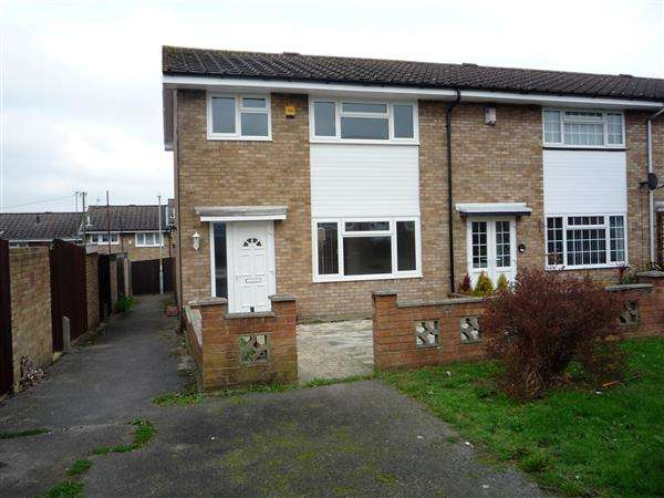3 Bedrooms End Of Terrace House for sale in Lorton Close, Gravesend