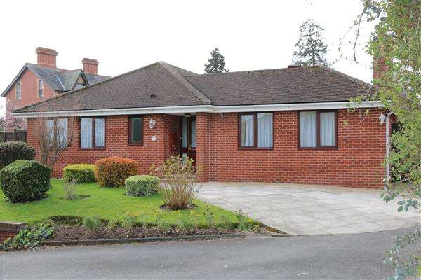 3 Bedrooms Detached Bungalow for sale in Daymerslea Close, Ross Town, 1 Daymerslea Close, Ross-on-Wye