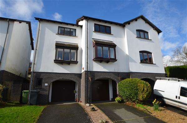 2 Bedrooms Terraced House for sale in Morningside, Dawlish