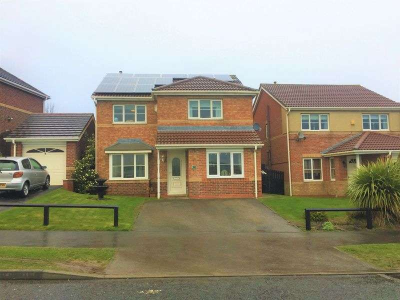 4 Bedrooms Detached House for sale in Beverley Way, Peterlee