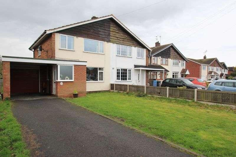 3 Bedrooms Semi Detached House for sale in Bungham Lane, Penkridge, Stafford, ST19