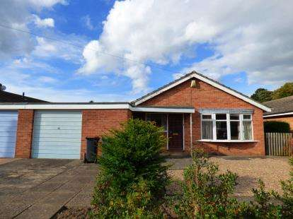 2 Bedrooms Bungalow for sale in Wilfred Gardens, Ashby-de-la-Zouch