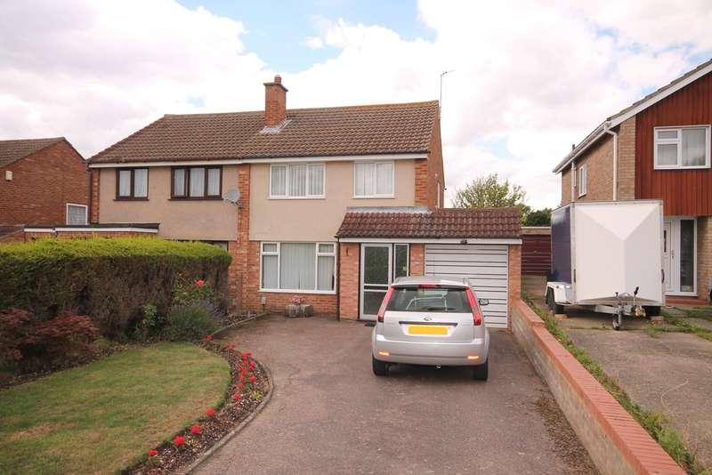 3 Bedrooms Semi Detached House for sale in Mendip Crescent, Putnoe, Bedford, MK41