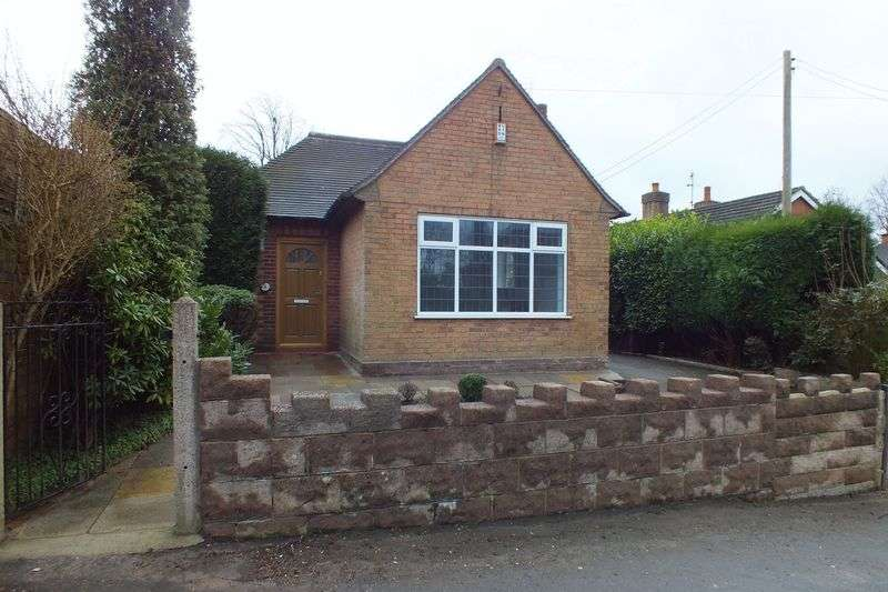 2 Bedrooms Detached Bungalow for sale in Little Chell Lane, Little Chell, Stoke-On-Trent