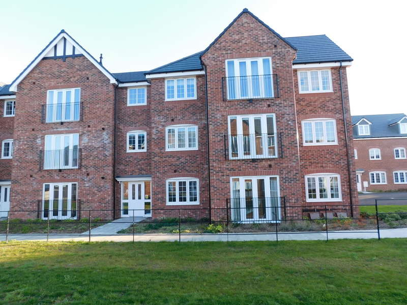 2 Bedrooms Ground Flat for sale in Harvard Court, Goodwill Road, Ollerton