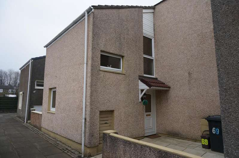 3 Bedrooms Terraced House for sale in Rowan Road, Abronhill, Cumbernauld G67