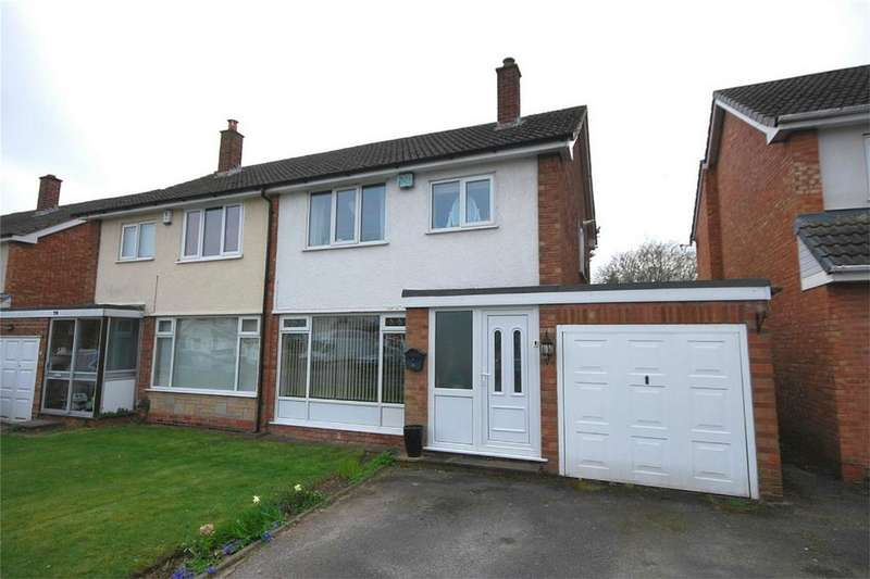 3 Bedrooms Semi Detached House for sale in Willmott Road, Four Oaks, Sutton Coldfield, West Midlands