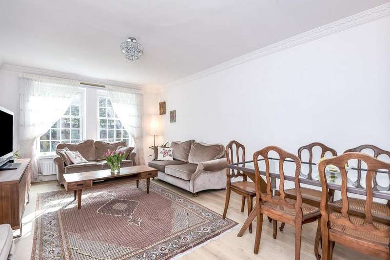 2 Bedrooms Flat for sale in Wimbledon Park Side, Southfields, SW19