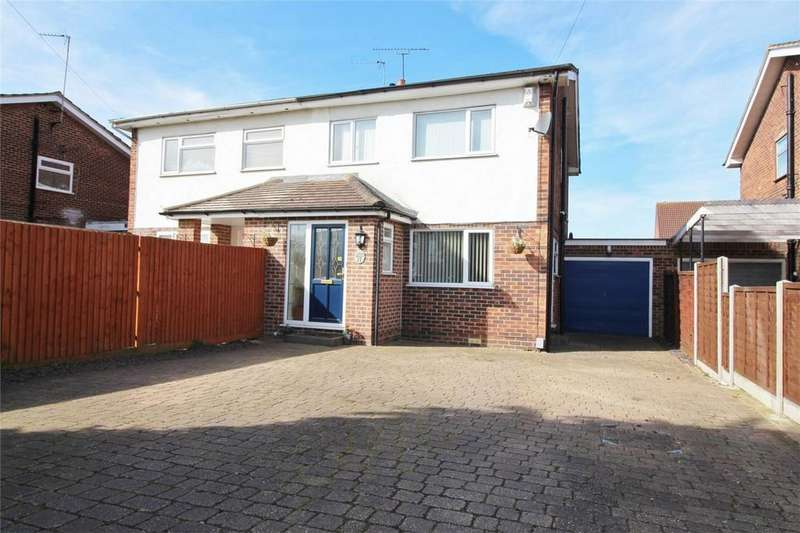 3 Bedrooms Semi Detached House for sale in Holme Road, HATFIELD, Hertfordshire