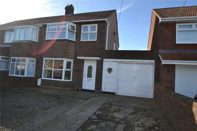 3 Bedrooms Semi Detached House for sale in Marcia Avenue, Shotton, Co.Durham, DH6