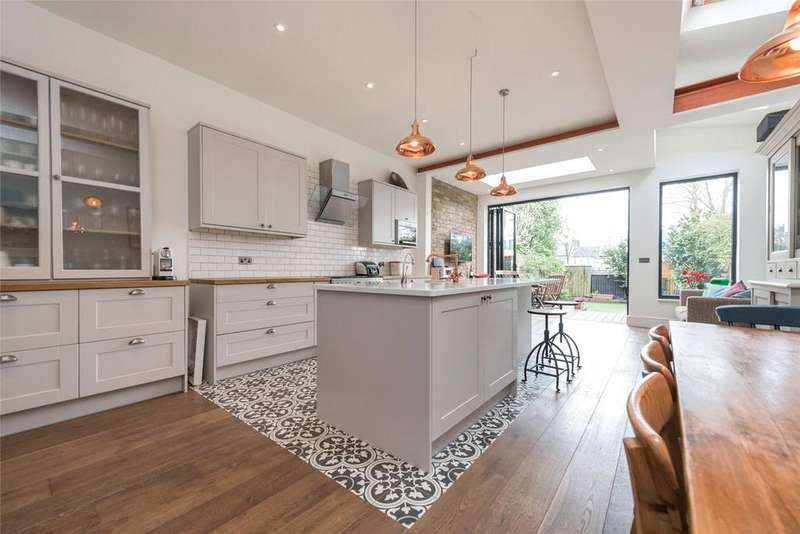 4 Bedrooms Terraced House for sale in Bathurst Gardens, London, NW10