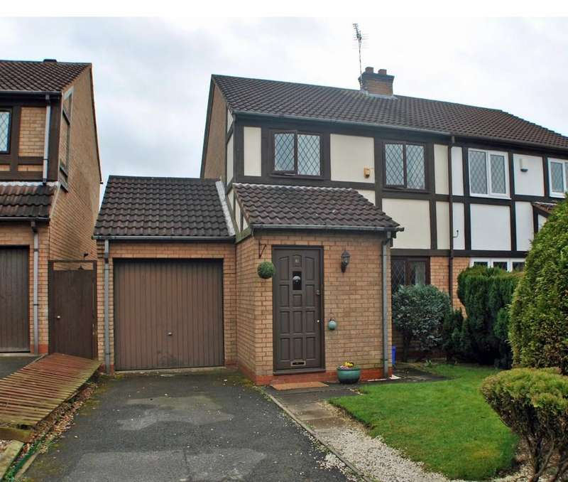 3 Bedrooms Semi Detached House for sale in Tilesford Close, Solihull