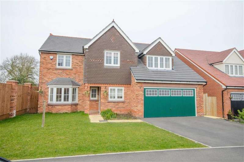 5 Bedrooms Detached House for sale in Green Meadow Rise, Penymynydd, Chester, Flintshire