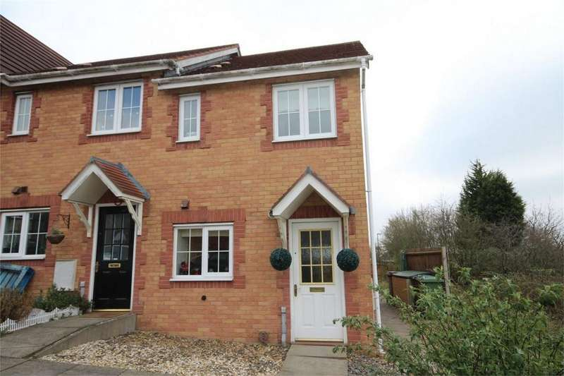2 Bedrooms End Of Terrace House for sale in Eden Court, Nuneaton, Warwickshire