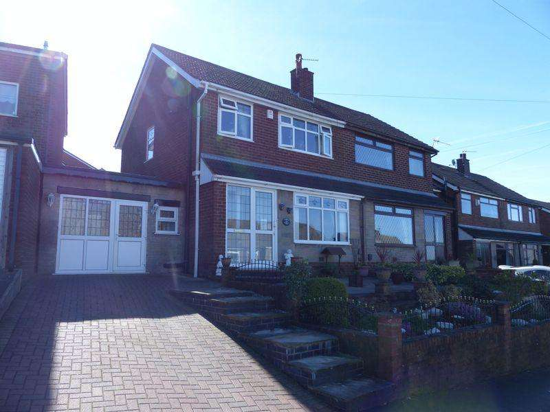3 Bedrooms Semi Detached House for sale in Greenside Avenue, Moorside